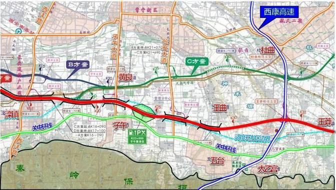 西安长安区滦镇地图