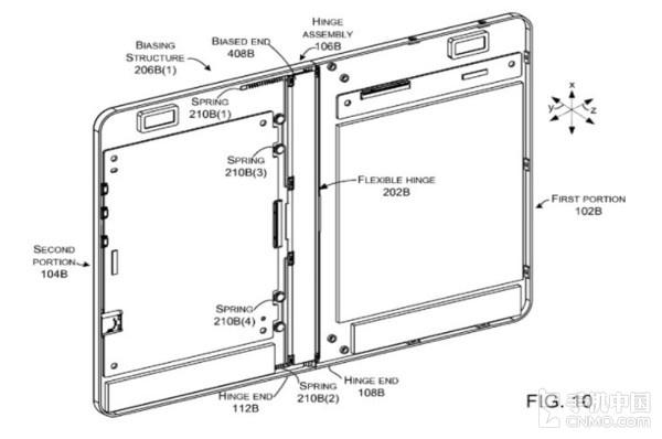 《柔性可折叠计算设备》专利解释图