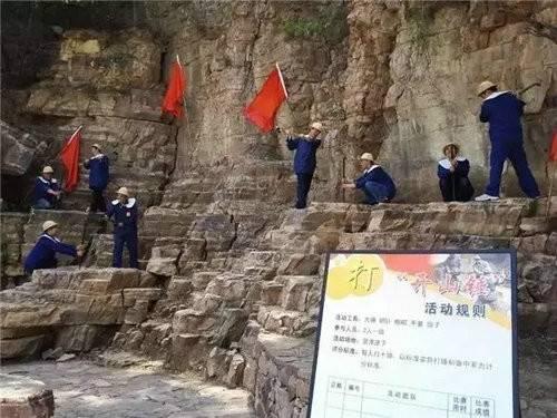 三千华里的红旗渠,是用一块石头一块石头砌成的!