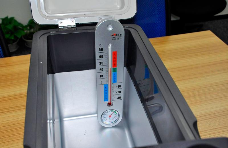 眼见为实 英得尔车载冰箱对比半导体车载冰箱