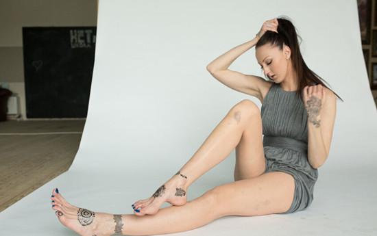 俄罗斯美女腿长133厘米