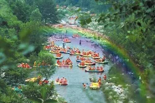 """嵩县最全漂流景点你准备好""""湿身""""了吗"""