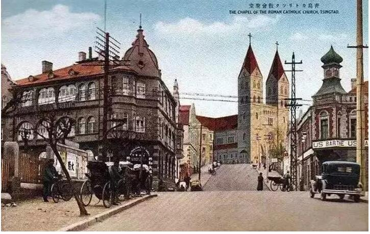 1899年9月23日,胶济铁路破土动工.