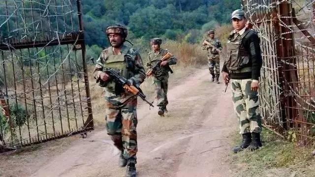 △资料图:印度边防部队士兵
