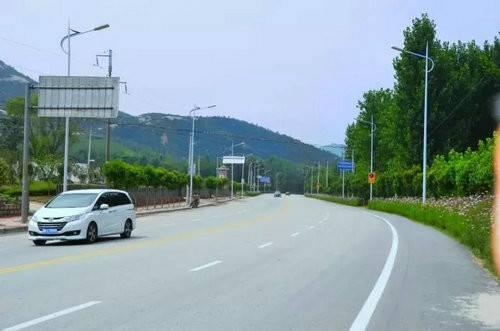 七峰山生态旅游区观光行车道全线升级喜迎八方游客