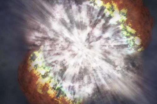 这道光将在下月抵达地球,只不过至今科学家都不知其能量来自何处