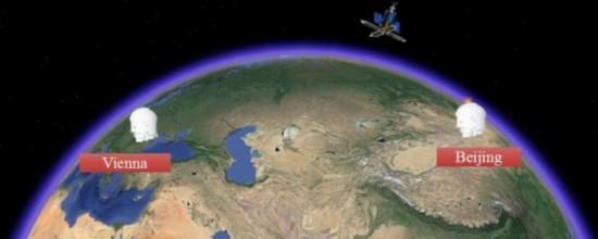 中国将与欧洲开展洲际量子密钥分发(中科院供图)