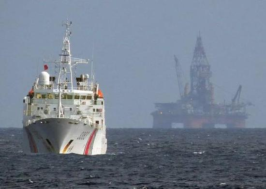 越南钻井船停留南海一个月后离开 中方此前已表态