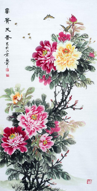 适合玄关的画 吉祥又美观的花鸟画更实用