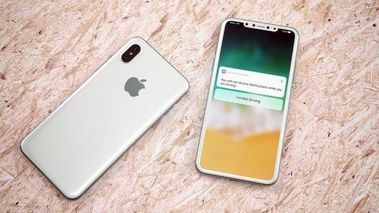 iPhone8使用玻璃塑料混合透镜(图片来源businessinsider.com)