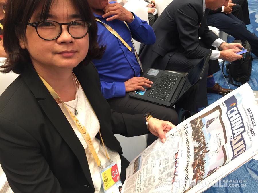 中国日报金砖峰会官方会刊深受好评