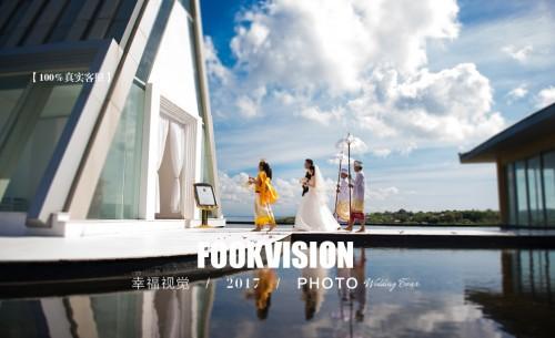巴厘岛天空教堂婚礼一级代理rich prada sky【幸福视觉】海外婚纱