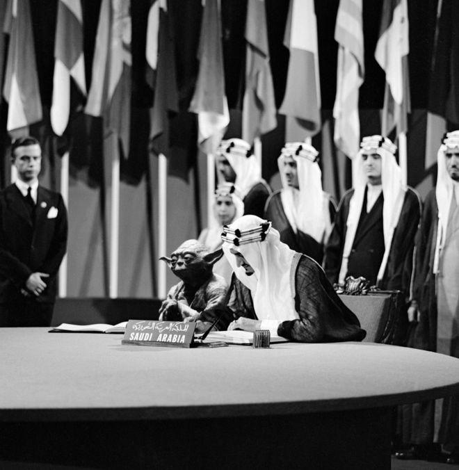 《星球大战》尤达大师现身沙特教科书 教育大臣道歉