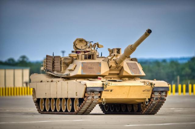 美军新版M1A2SEPv3将交货 对抗中国99式坦克