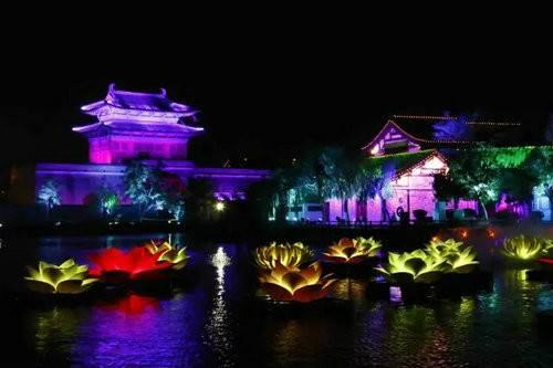 清明上河园《大宋·汴河灯影》 梦回千年畅游大宋汴河的新体验