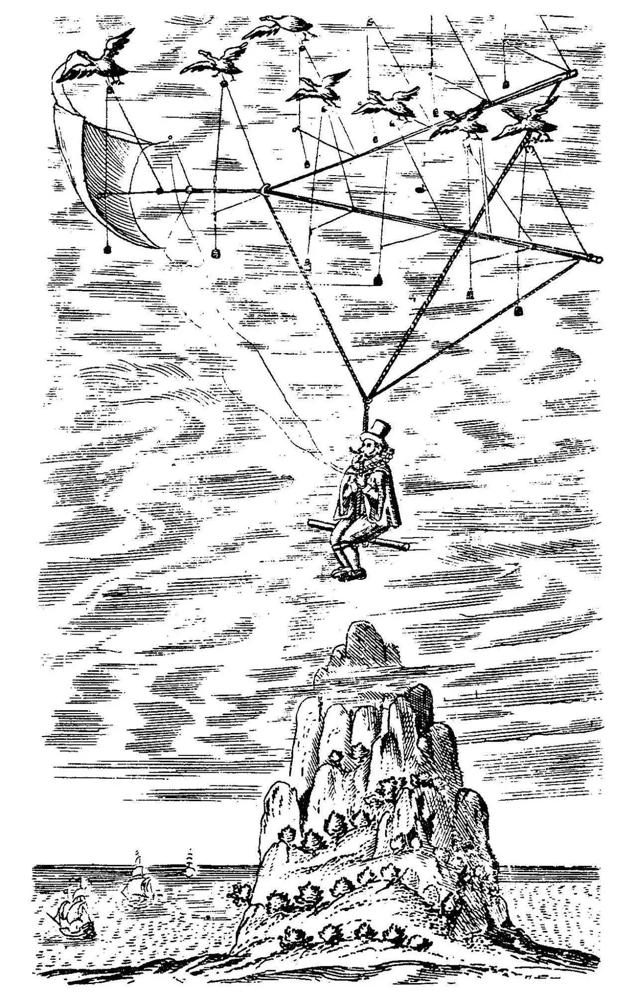 作家笔下的月球世界_最早用英文书写的月球旅行故事