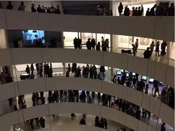展览现场;图片:博而励画廊