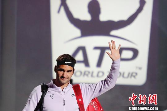 费德勒上海网球大师赛晋级八强