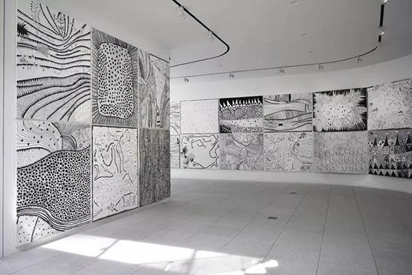 2楼展示厅;;图片:美术手帖