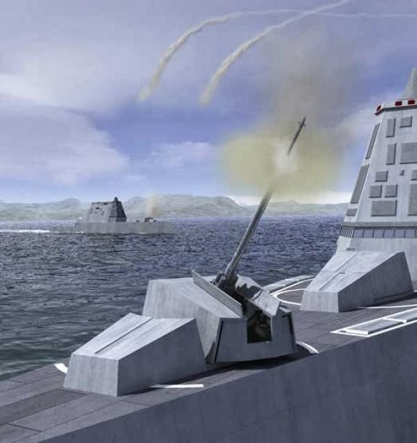 """学习中国?美军陆战队也开始搞""""陆炮上舰"""""""