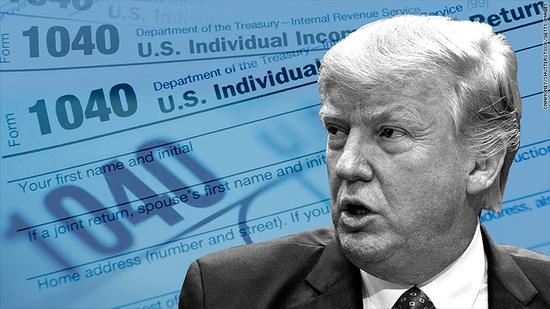 美国税改计划公布 将是美国史上最大规模减税