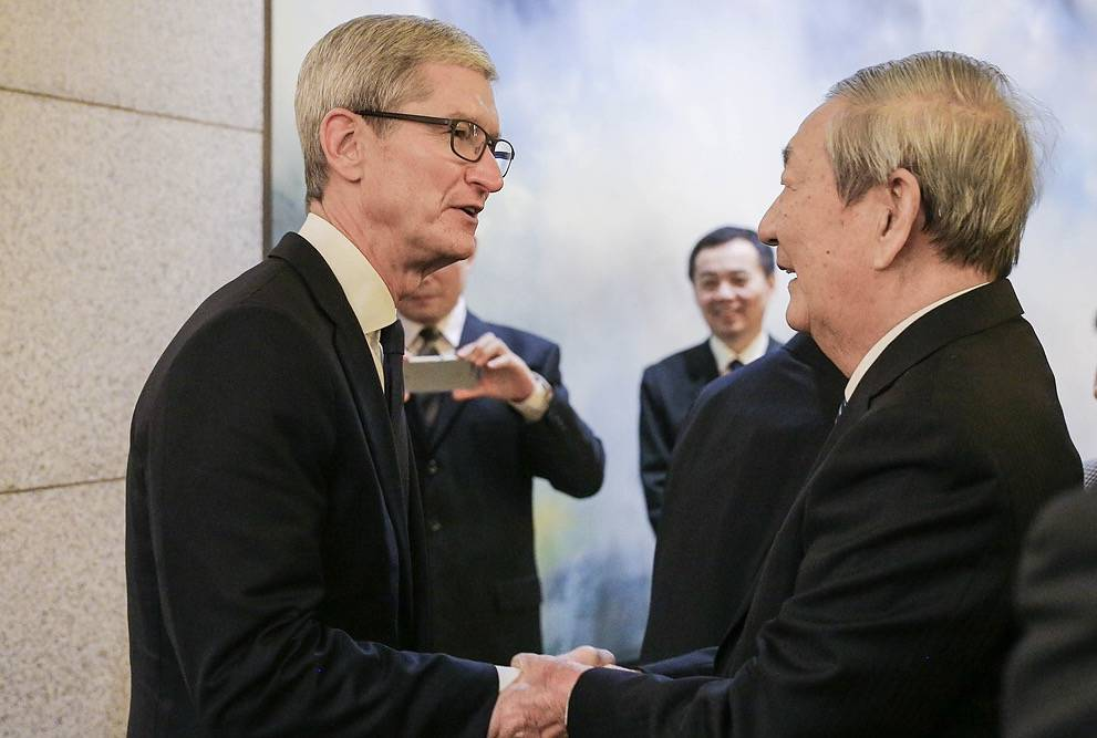 朱镕基会见清华经管学院顾问委员 谈十九大(组图)