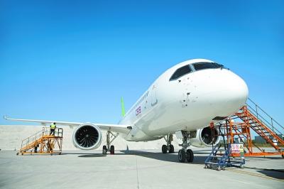 国产大客机C919今开启首次远航 飞行时间约3小时