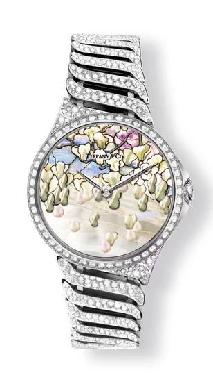 Tiffany & Co. 蒂芙尼Metro系列珐琅彩绘腕表