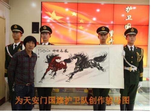 张金海—中国国务外事国礼艺术家