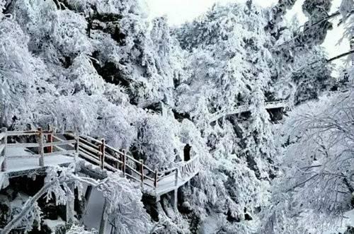 冬季不封山优惠畅游大美尧山