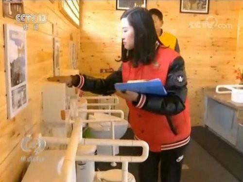 央视新闻频道《焦点访谈》聚焦老界岭风景区厕所改造升级