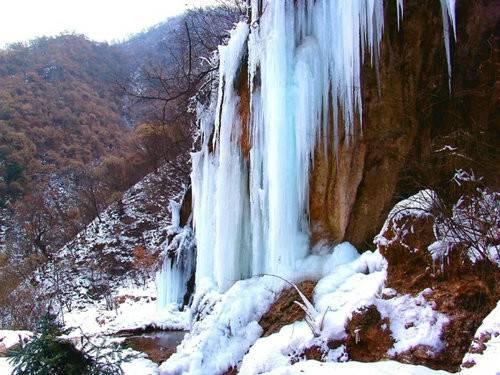 冰天雪地的重渡沟是怎么样的一种景象?