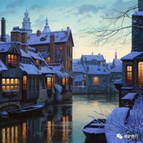 """""""欧洲最美丽的风景城市""""——布鲁日"""