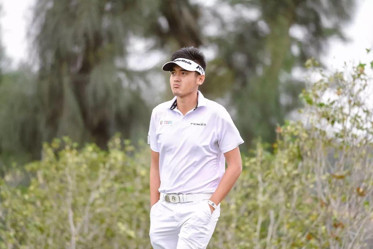 亚洲高尔夫锦标赛哈罗德领跑 三位中国选手居第三