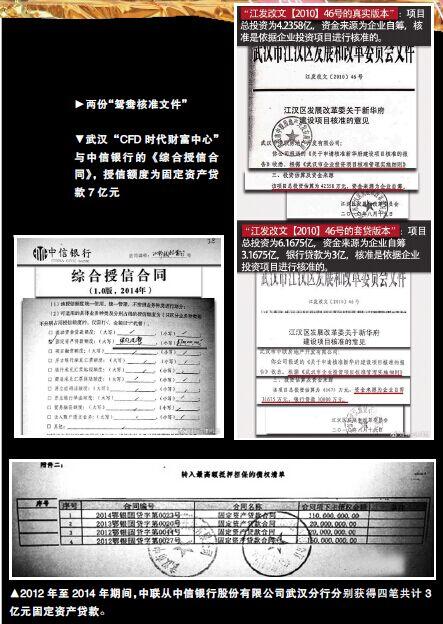 考问武汉CFD时代财富中心:多环节现触碰法律红线迹象