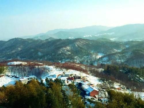雪后放晴西九华山风景胜画图邀你来赏