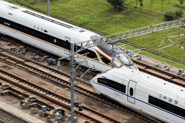 圖為中國高鐵。新華社發