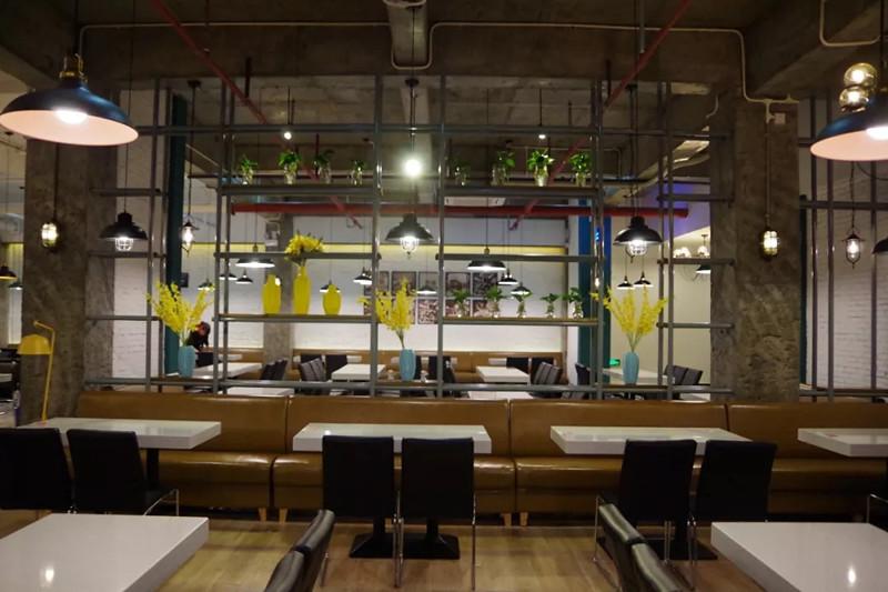 海南疯格装饰设计——当港式餐饮遇上时尚简约风