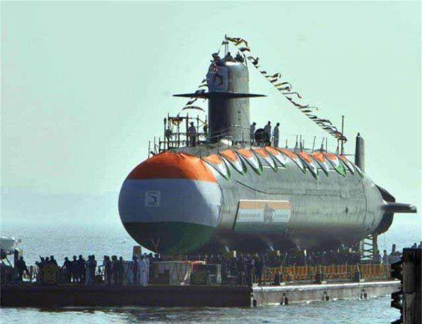 印媒:自建法国常规潜艇入役 难比中国核潜艇