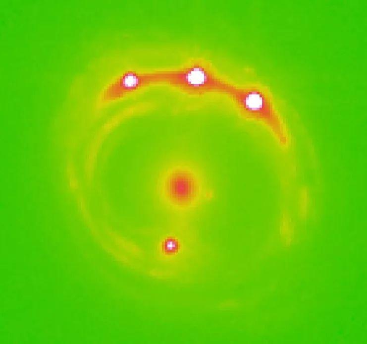 首次发现了银河系以外的行星