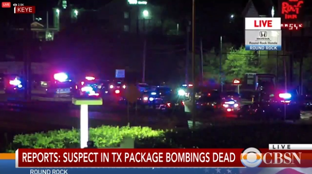 Austin the bombings Suspects in the police close to suicide