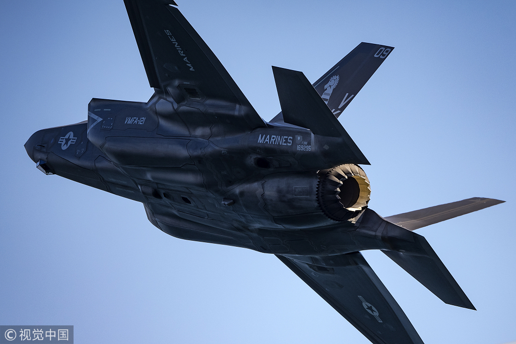 The top republicans demanded the sale trump F35, indicate the deterrence in mainland China