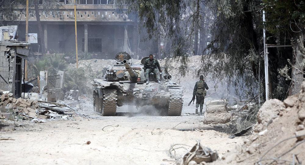 俄驻叙调解中心在叙杜马未发现化武袭击迹象