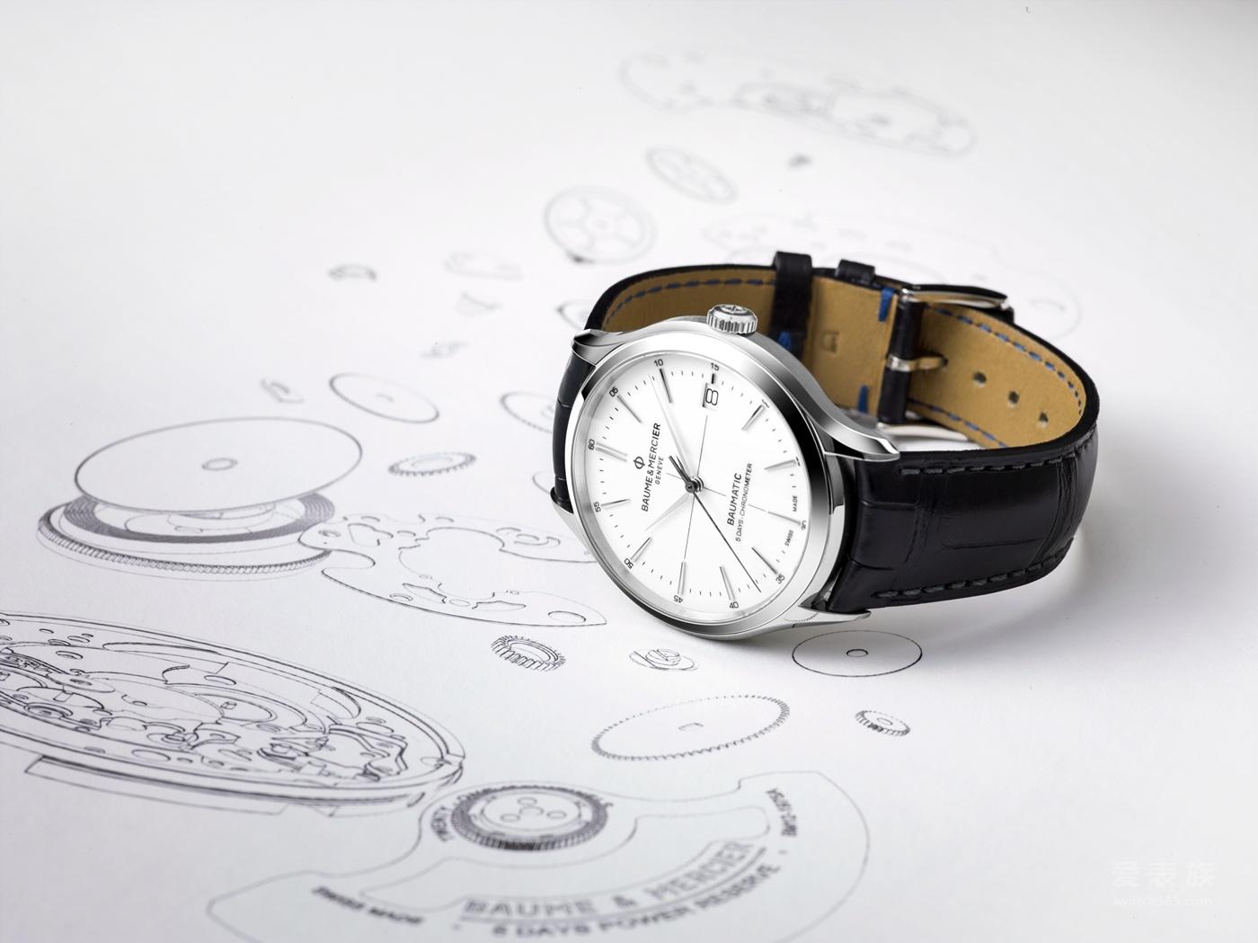 """从""""芯""""出发,忠于经典名士克里顿系列Baumatic™腕表中国发布"""