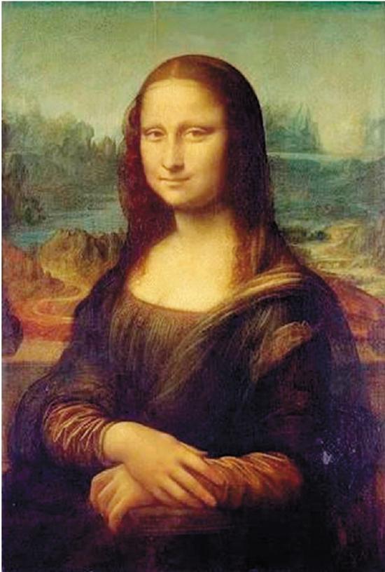 列奥纳多·达·芬奇蒙娜丽莎1503-1507年法国巴黎卢浮宫藏
