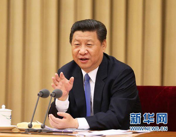 2015年5月18日至20日,中央统战工作会议在北京举行。中共中央总书记、国家主席、中央军委主席习近平在会上发表重要讲话。新华社记者马占成摄