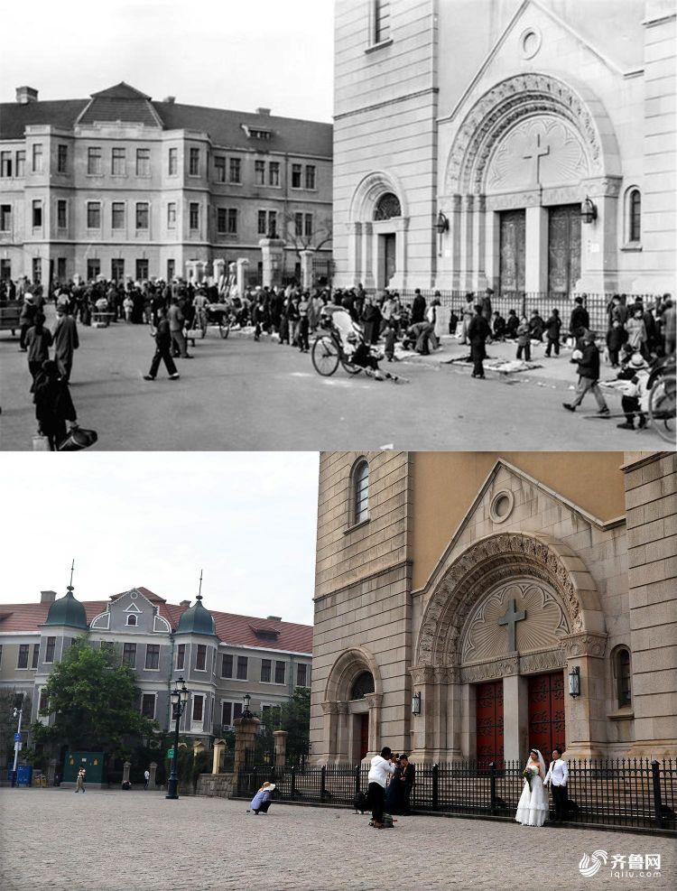 3青岛天主教堂正门.jpg
