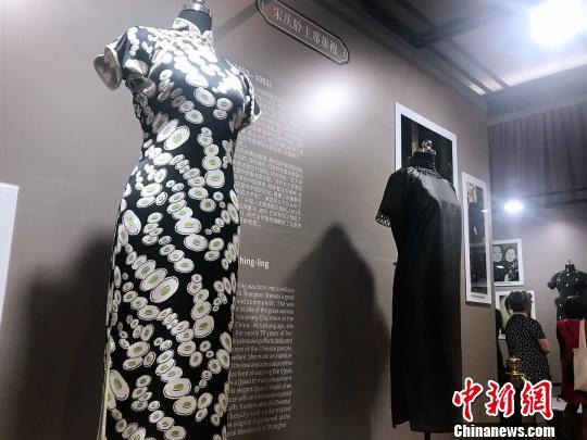 宋氏三姐妹及家族成员旗袍在沪集中展出