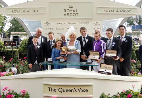 浪琴表第十二年呈现英国皇家阿斯科特赛马会-01