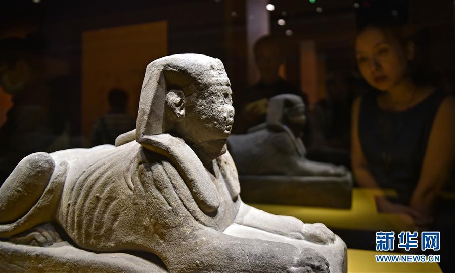 (文化)(1)辽宁省博物馆举办古埃及文物特展